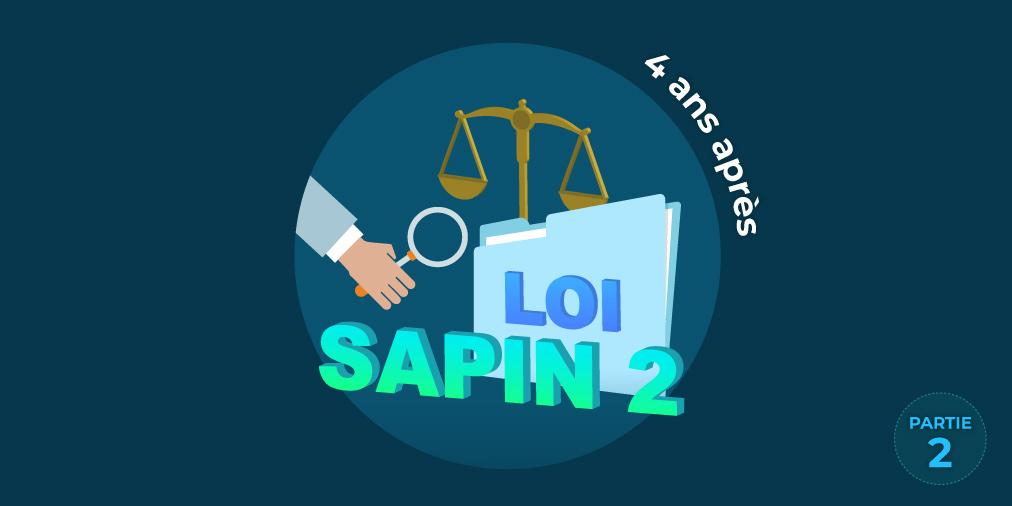 Visuel Blog Infolegale Loi Sapin 2 Mise en conformité Compliance